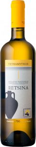 Tetramythos Retsina